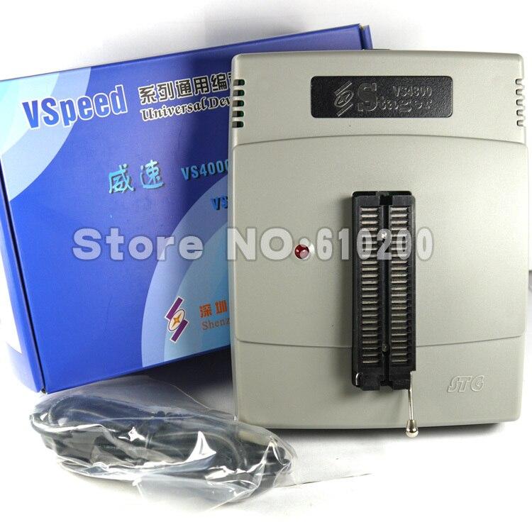 Бесплатная доставка; новые VSpeed серии VS4800 высокая производительность USB Универсальный программатор поддержать 48 контакты 15000 IC для EEPROM, FLASH, ...