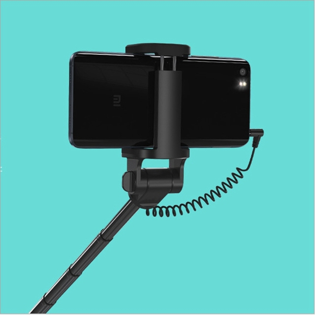 Original Xiaomi Selfie Monopod Stick Selfie Holder Extendable Wired Handheld For phone 7 6s IOS Android Mobile Phone