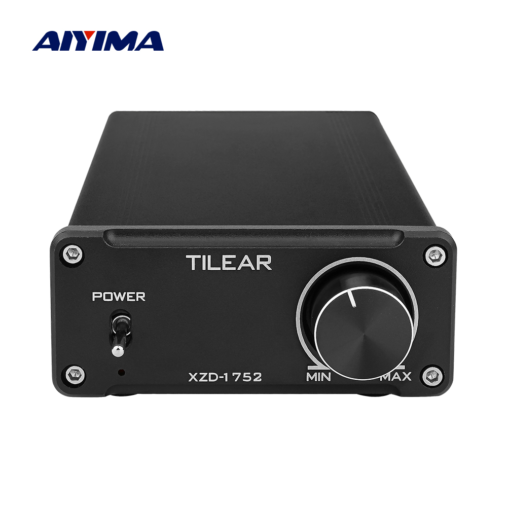 AIYIMA TPA3251 Digital Audio Speaker Amplifier HIFI Stereo Power Amplifier Professional 175Wx2 2.0 NE5532 Mini Amp Home Theater