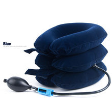 Air Cervical Soft Neck Brace Device Inflatable Collar Head Back Shoulder Neck Cervical Traction Health Care Massage Device