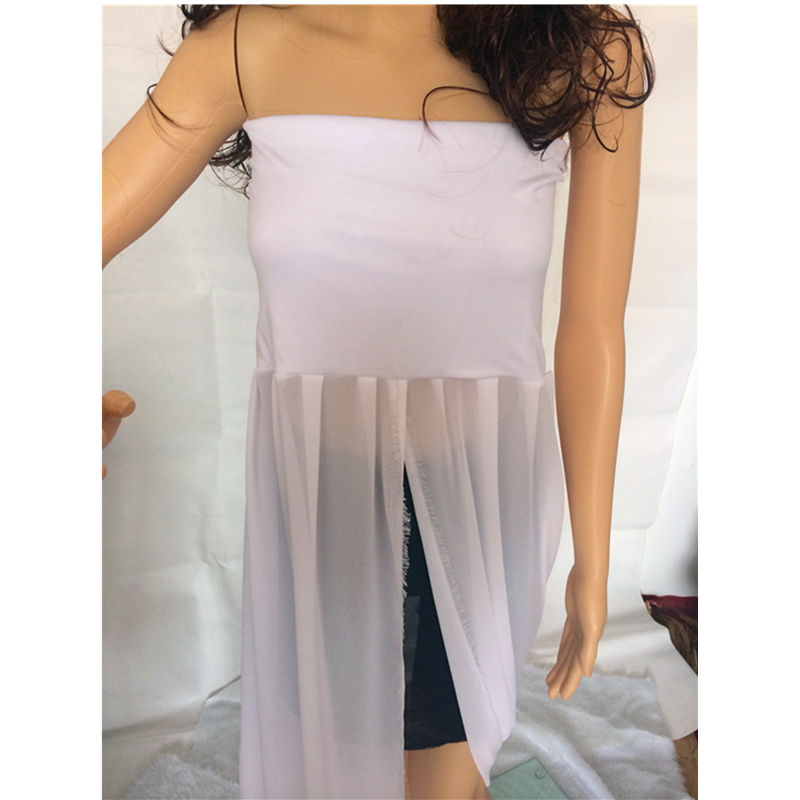 New Arrival Free Size Maternity Lace Gown V Neck Lace Dress Split Front for Pregnant Women Maternity Shoot Photography Props in Dresses from Mother Kids