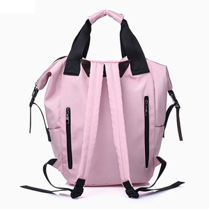 Image 5 - Nylon Backpack Women Casual Backpacks Ladies Large Capacity Rucksack School Bag Teenager Girls Travel Students Shoulder Bags