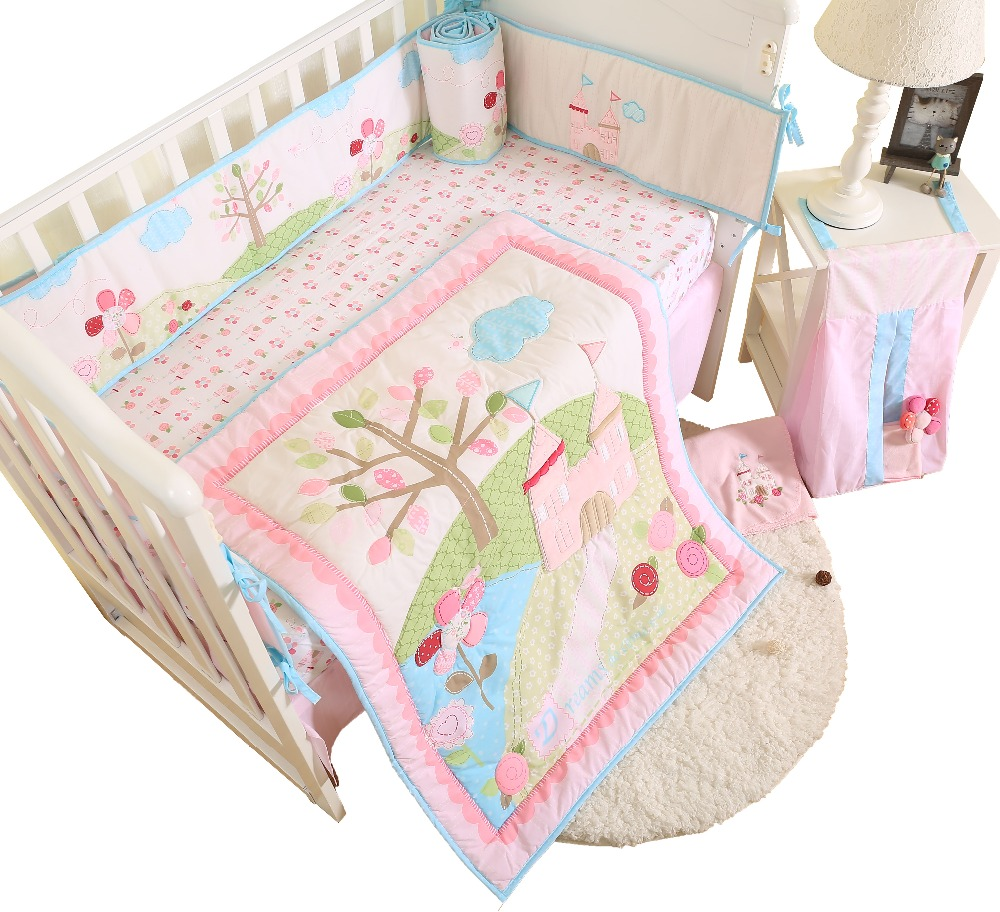 Best seller applique baby bedding set