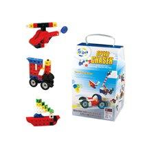 Gigo Kids' DIY 161PCS 30 Models Speed Chaser Creative Toys like Airplane & Sailing #7127 Building Blocks