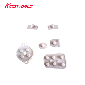 Xunbeifang 100sets Rubber Conductive Buttons Repair Parts  For Nintendo N64 Controller