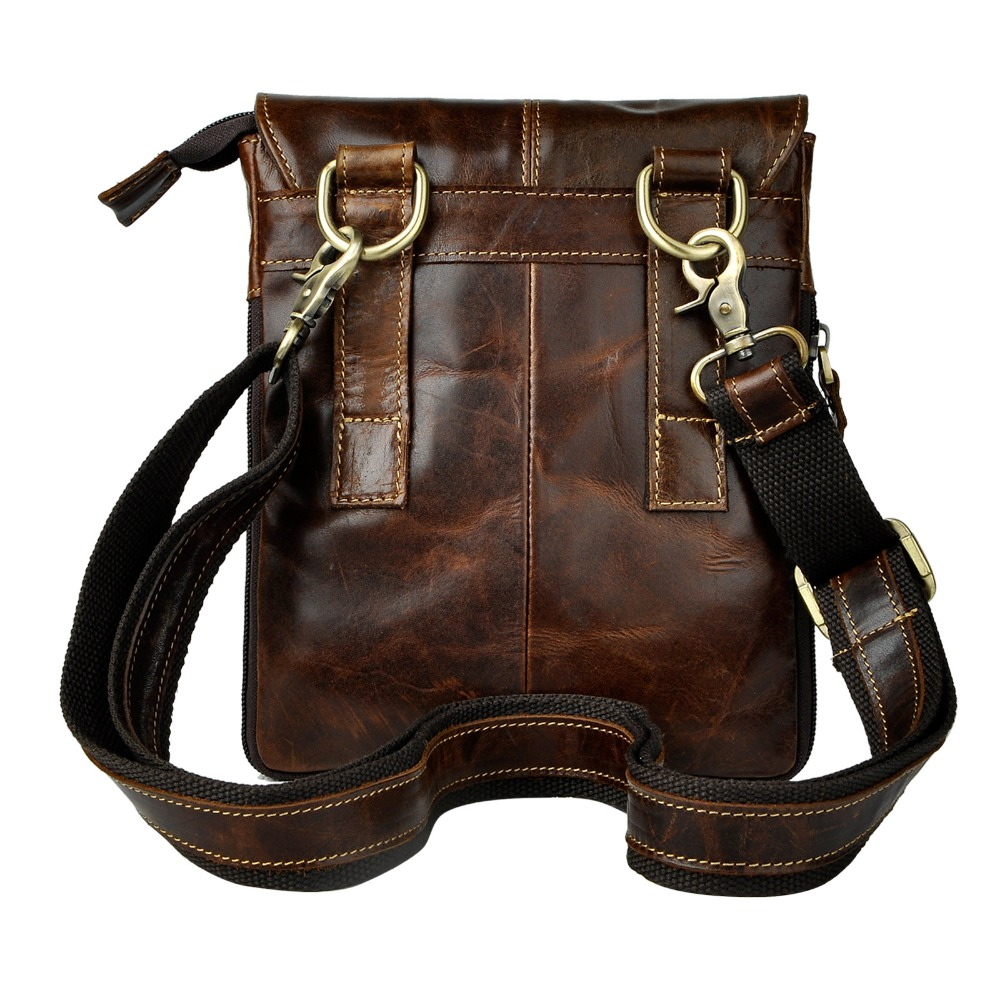 Fashion Real Leather Multifunction Casual 8
