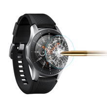 Para galaxy watch 3 45mm 41mm 2 pces filme de vidro temperado completo filme de vidro para engrenagem s3 22mm tela protetora agradável com seu relógio
