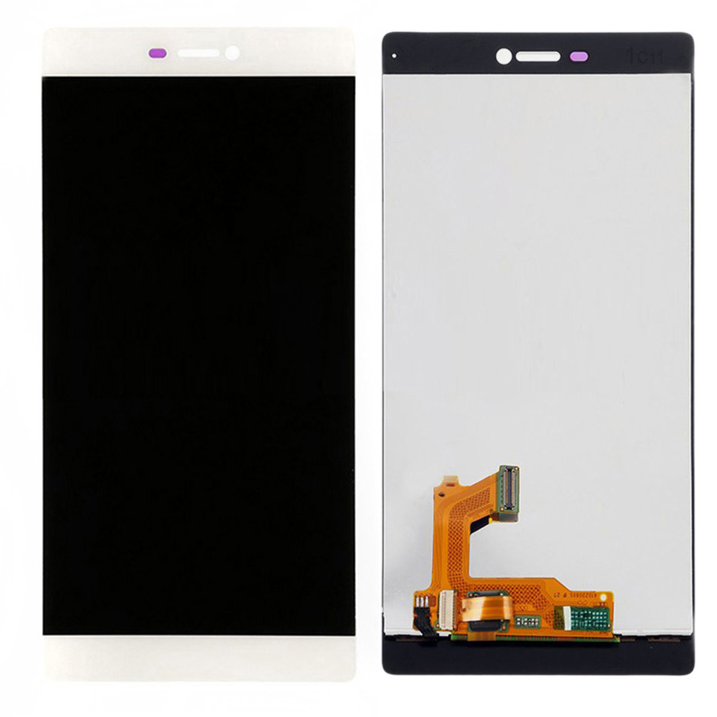 ФОТО 10pcs/lot 3 Colors LCD Display Touch Screen Glass Digitizer Assembly For Huawei Ascend P8
