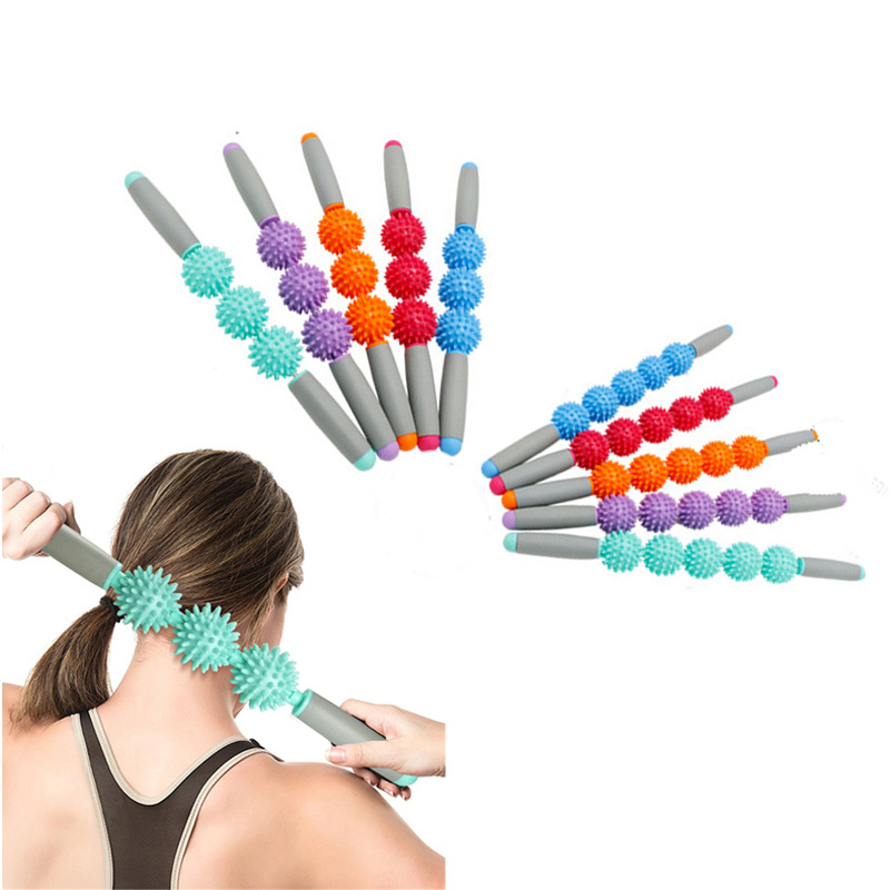 Anti Cellulite Massager Stick Anti-Cellulite Trigger Point Stick Body Foot Face Leg Slimming Massage Muscle Roller