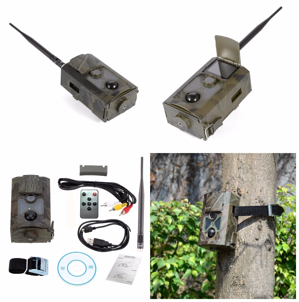 Hunting Camera HC-500M Infrared Photo Trap Digital Trail Camera HC500m Hunting Camera with 48pcs Night Vision Infrared LEDs cam (17)
