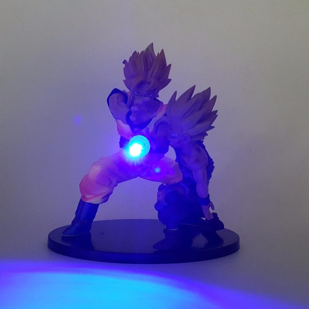 Figuras de Ação e Toy gohan kamehameha luz led anime Fantoches : Modelo