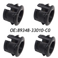 4PCS 89348-33010-C0 PDC Parking Sensor Retainer For Toyota Lexus ES350 HS250h 89348-33010,8934833010
