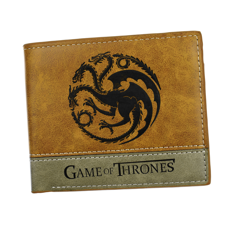 New Design Men's Short Wallet Game of Thrones / Deadpool / Wonder Women / Suicide Squad 6 Card Holder Purse fvip high quality short wallet harry potter game of thrones suicide squad wonder women tokyo ghoul men s wallets women purse