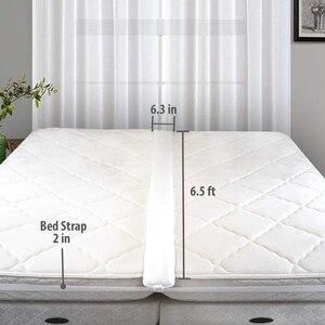 Image 2 - Kit de convertisseur de pont de lit Twin à King remplisseur de lit pour faire des lits jumeaux en connecteur King connecteur de lit jumeau et connecteur de matelas