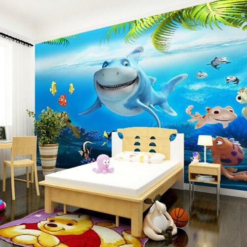 Personnalisé photo de papier peint 3D Enfants chambre papier peint ...
