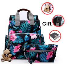 Large Capacity Mommy Maternity wetbag Diaper Nappy Bag Bolsa Maternida Printed Bebe Bag Travel Backpack Desiger mommy backpack
