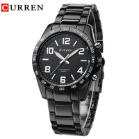 2016new Fashion Curren Brand Design Business Is Currently The Male Clock Leisure Stainless Steel Luxury Wrist