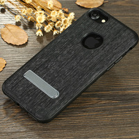 X Level Elite Case For IPhone 7 7 Plus Fish Texture PU Leather Kickstand Luxury Phone