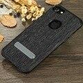 X-nivel de elite para iphone 7 7 plus pescado textura pu pata de cabra de cuero de lujo cubierta del teléfono para iphone 7 7 plus caso