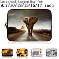 "Brand New Fashion Universal 9.7 10 12 13 15 15.6 17"" Portable Laptop liner Bag Netbook Cover Pouch 15 15.6 Laptop Accessories"