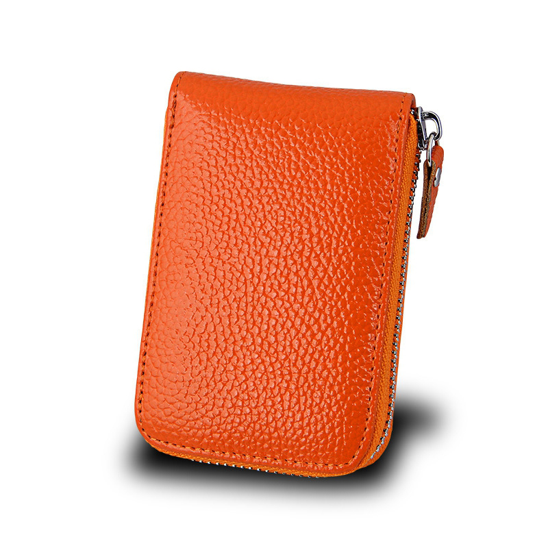 2017 new leisure really pickup package account card a card set high quality cowhide women small wallet capacity miwind card set