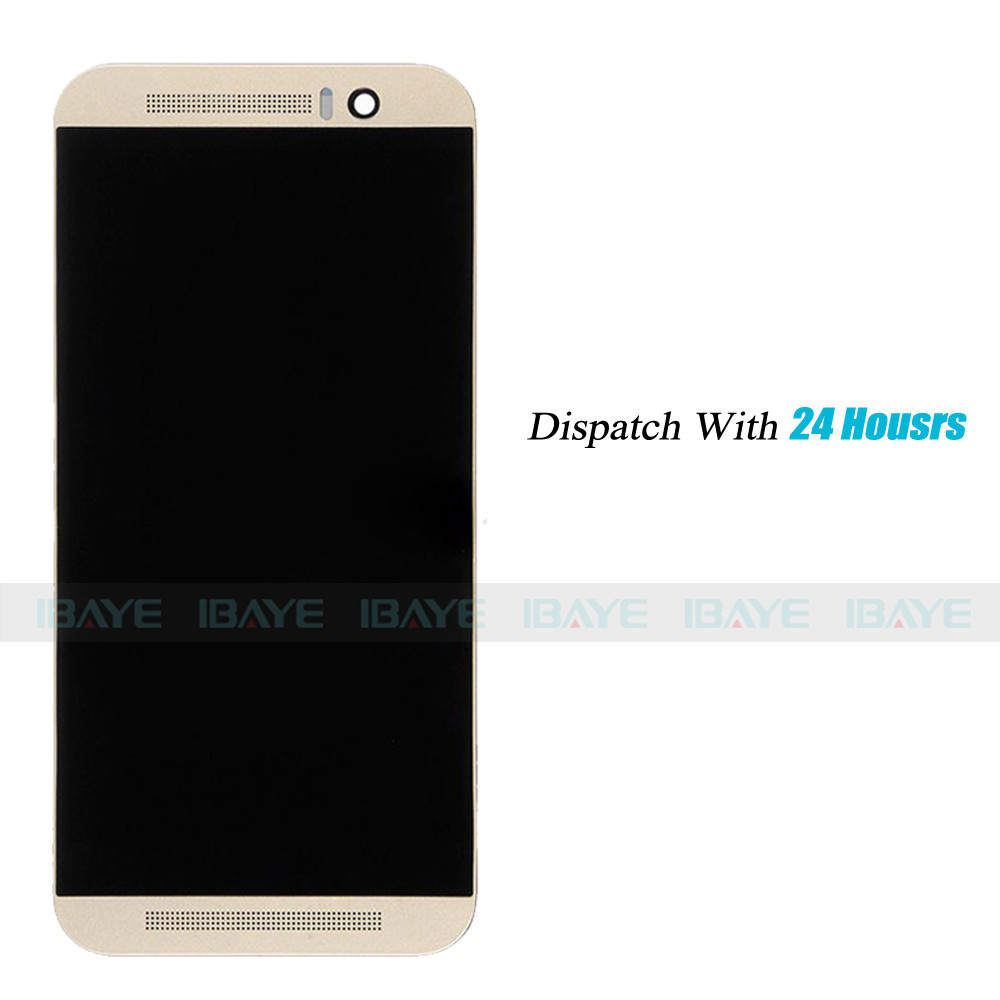 htc screen replacement. aliexpress.com : buy complete screen for htc one m9 display lcd touch digitizer with frame assembly replacement gold from htc