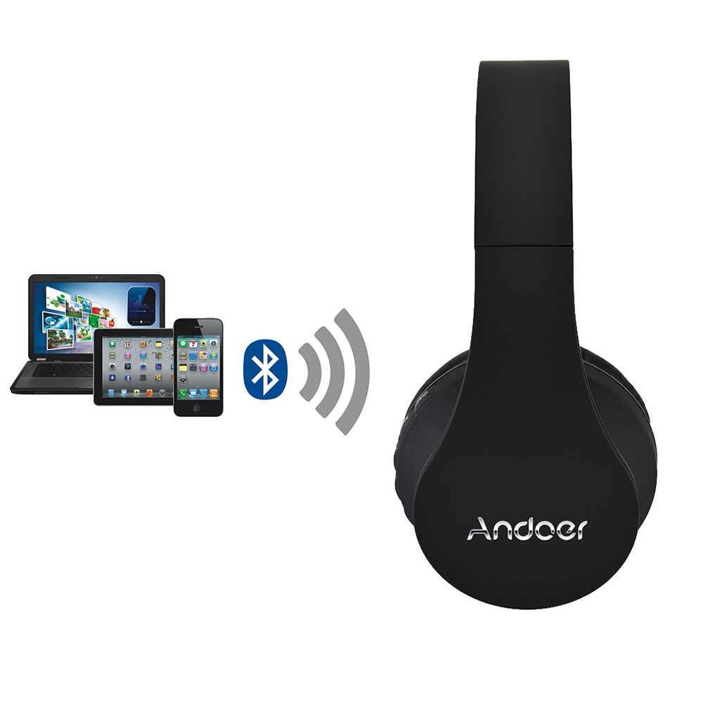 d6d7a9a783c ... Andoer LH-811 Digital 4 in 1 Wireless Stereo Bluetooth 3.0 + EDR  Headphone Headset