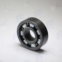 Бесплатная доставка высокое качество 6214 полный SI3N4 керамическая радиальный шарикоподшипник 70x125x24 мм