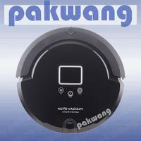 Pakwang A320 Smart Robot Vacuum Cleaner For Home Efficient Clean Remote Control Self Charge Black Home