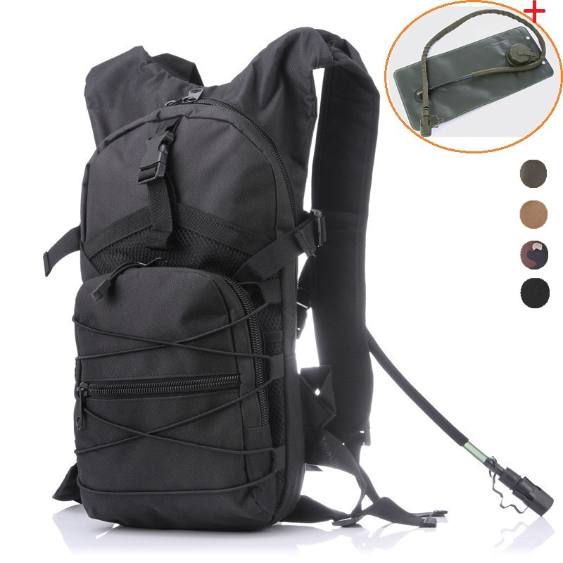 Active Outdoor Molle Military Tactical Hydrator Pouch Cycling Bag Backpack Camping Camelback Cycling Hiking Camel Bag Water Backpack