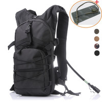 Outdoor Molle Military Tactical Hydration Pouch Cycling Bag Backpack Camping Camelback Cycling Hiking Camel Bag Water Backpack