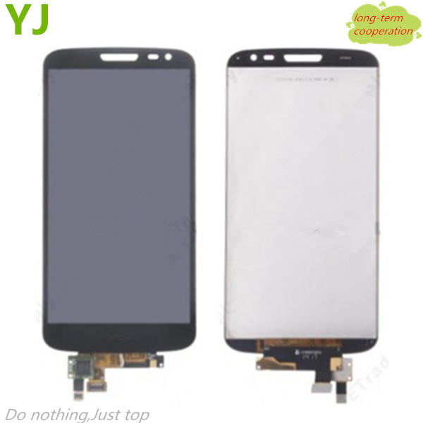 HK Free shipping 100% Tested LCD Screen and Digitizer Assembly for LG G2 Mini D620 - Black