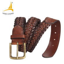 [CNYANGCHENG] Male genuine leather strap belts cummerbunds for men high quality cowboy jeans designer belts corset belts