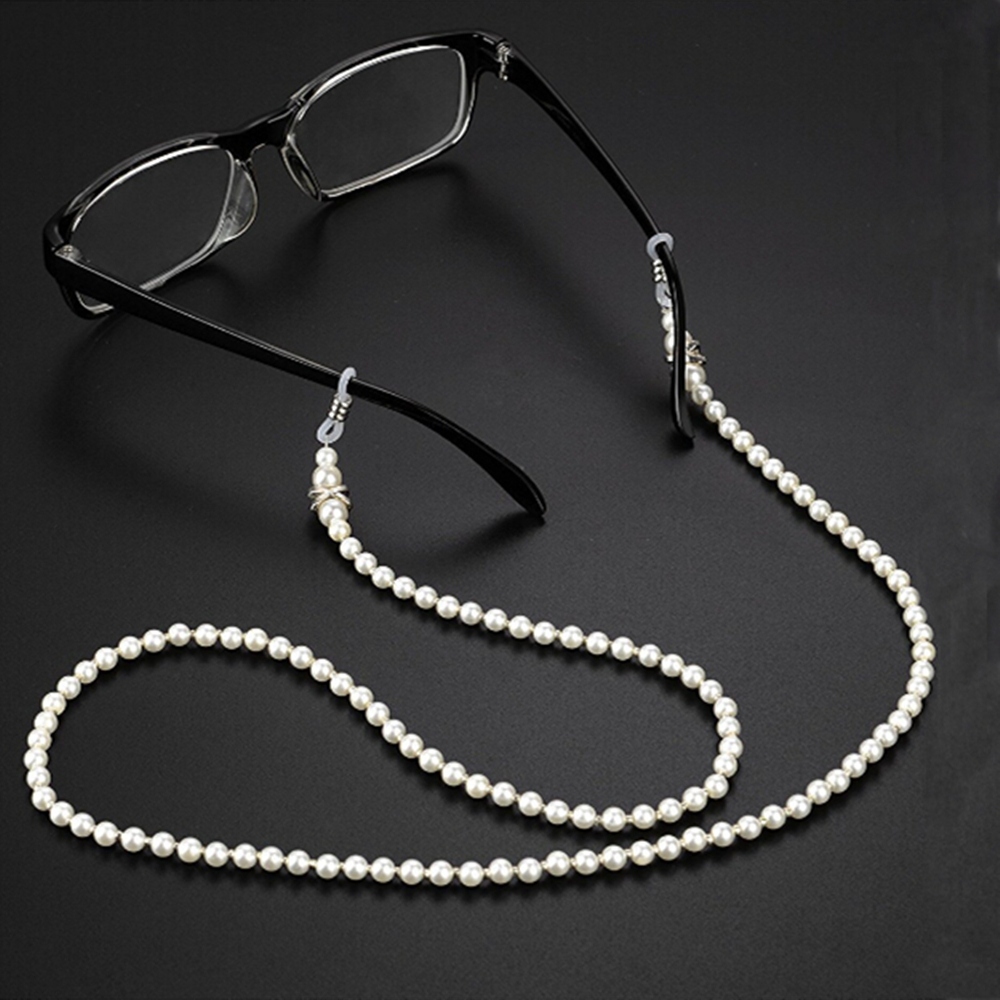 New Arrival Sunglasses Chain Wearing Neck Holding Beaded Lanyard Cord For Reading Glasses Eyeglasses Holder Rope Accessories