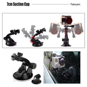 Image 3 - Tekcam for xiaomi yi Accessories for Xiaomi yi 4k/yi lite/yi discovery/mijia 4k Gopro hero 7 hero 5/4 session Eken h9r H9 H6S