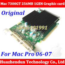 Free ship New Original Mac pro n-Vidia GeForce 7300GT 256MB for 2006-2007 Video Card 1GEN PCI-e Graphic card