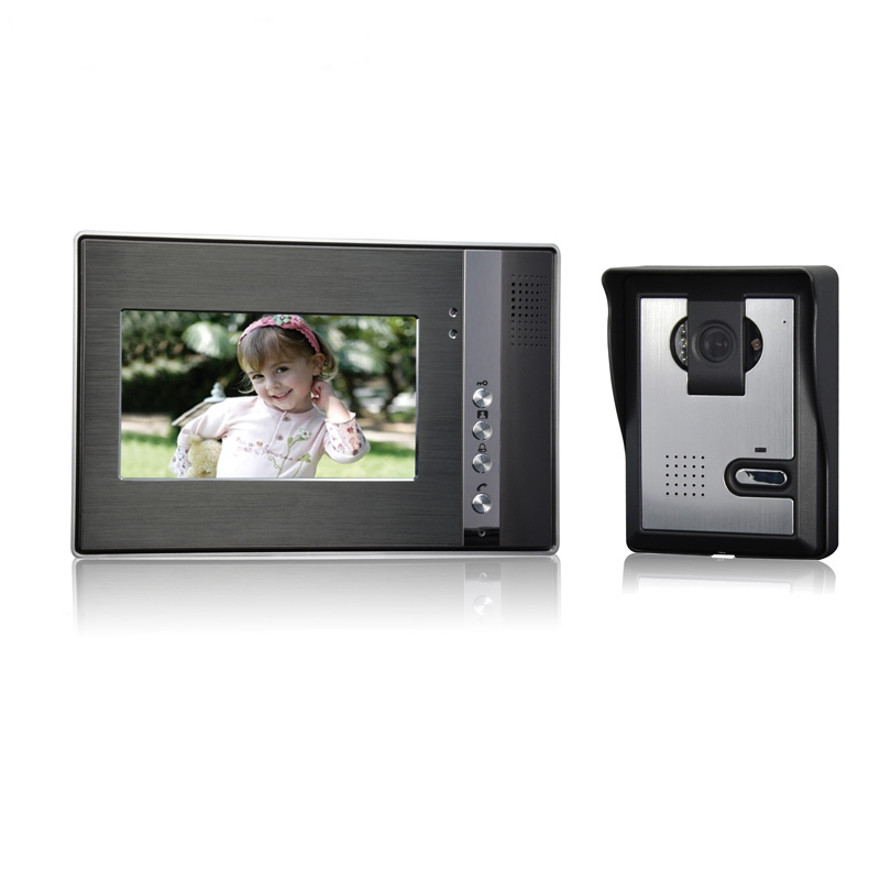 (1 set) Access Wire one to one Video Door Phone Night version Camera CMOS Lens 7 inch TFT-LCD color screen RFID card unlock(1 set) Access Wire one to one Video Door Phone Night version Camera CMOS Lens 7 inch TFT-LCD color screen RFID card unlock