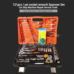 121/150 sztuk samochodów mieszane zestawy naprawcze wielofunkcyjny pakiet kombinacji zestaw narzędzi ręcznych przybornik futerał do przechowywania w Zestawy narzędzi ręcznych od Narzędzia na