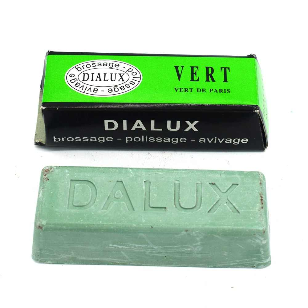 WAX FOR JEWELRY DIALUX GRAY POLISHING COMPOUND ROUGE DIALUX GRIS STAINLESS  STEEL GREY POLISH BAR