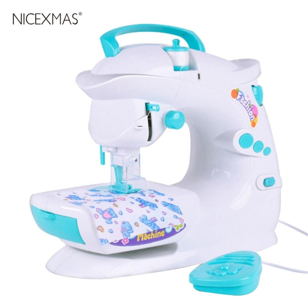 1 Pc Elektrische Nähen Maschine Einfach Zu Bedienen Leichte Nähen Spielzeug Diy Spielzeug Pädagogisches Spielzeug Housekeeping Spielzeug Für Kinder Kinder Verbraucher Zuerst