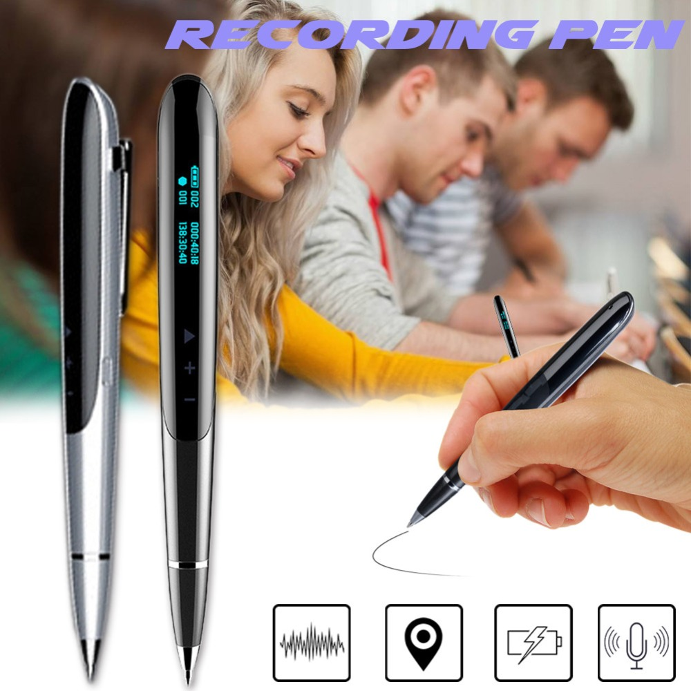 Volemer Q9 Digital Recorder Led Display Digital Audio Sound Voice Recorder Pen Professional Dictaphone Protable Mini Mp3 Player (1)