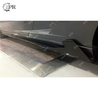 Carbon Fiber Side Skirt For Lamborghini Gallardo LP550/LP560/LP570 SPE Side Skirt Extension Body Kits Tuning Trim Accessories