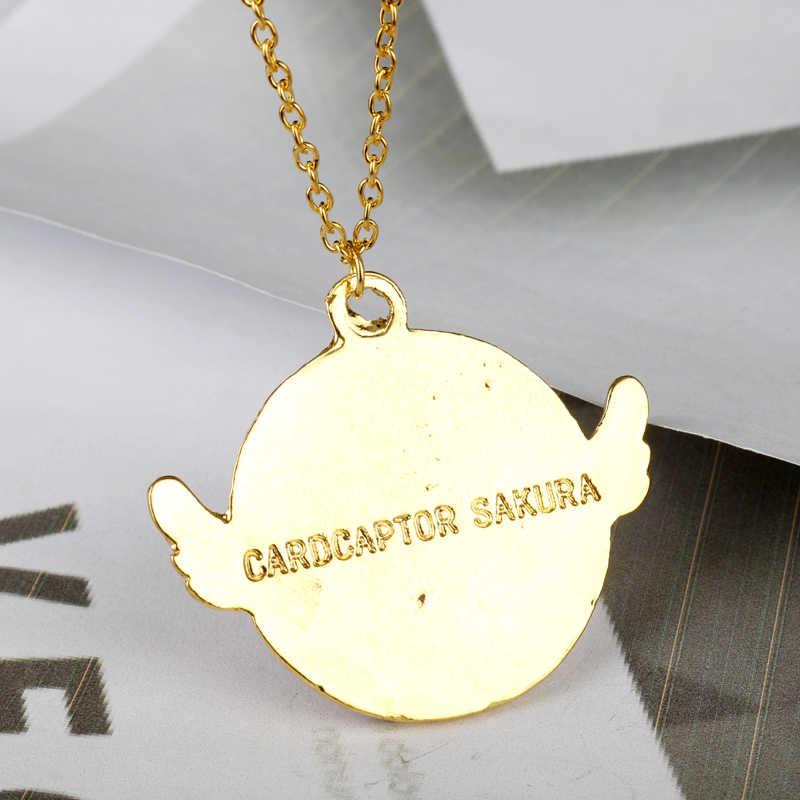 MQ Косплей Аниме ювелирные изделия серии Сейлор Мун карта Captor игрушка Сакура версия Крыло ангела ожерелье со подвеской из звезд Девушка Рождественский подарок
