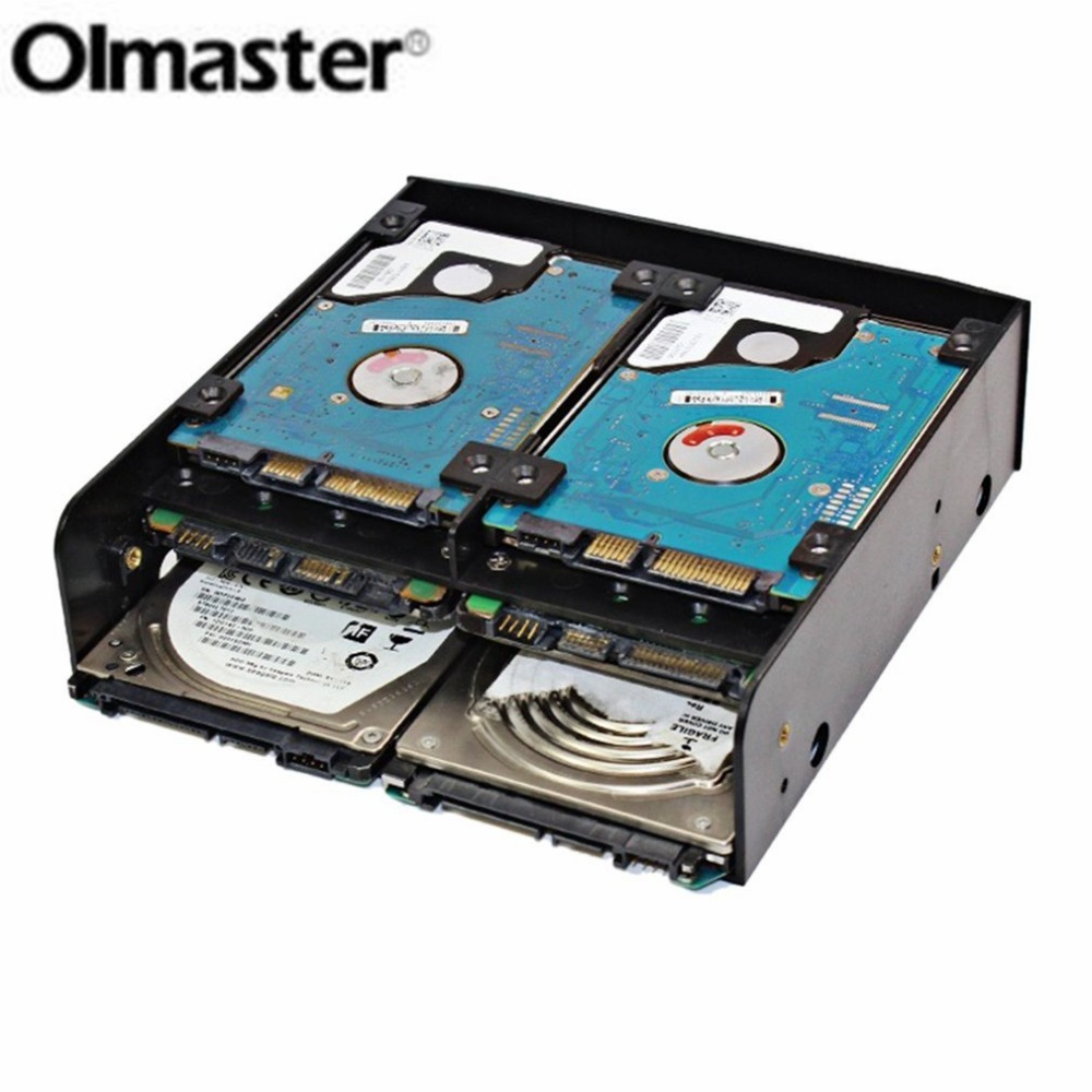 OImaster Multi-functional Combination of Multi-use Hard Drive Conversion Rack Standard <font><b>5.25</b></font> Inch Device for <font><b>2.5</b></font>