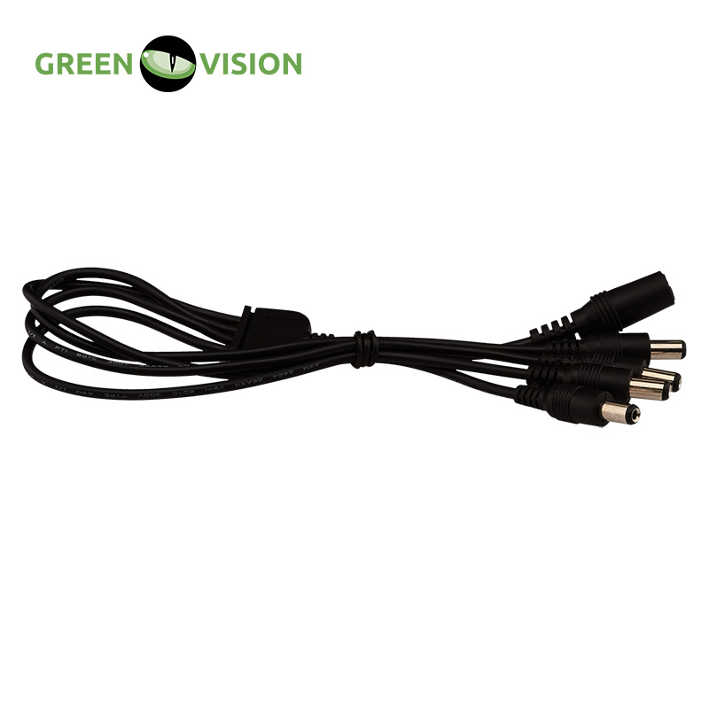 GREEN VISION Cable-divider power supply GV-DCS 1/4 (1 pack = 50 pcs=49.5$) #3589 evenflo room divider gate soft and wide 2 pack