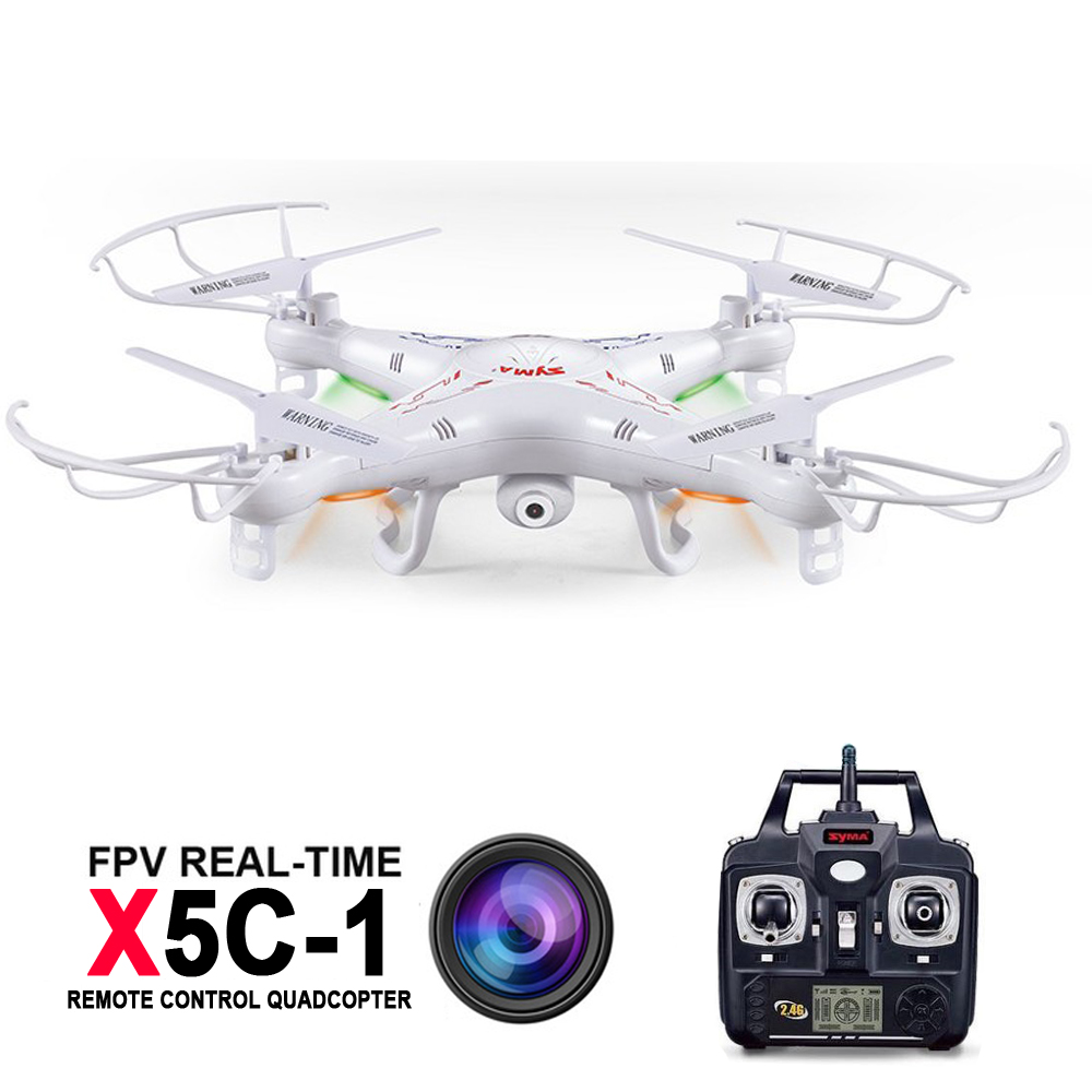 Syma X5C x5c-1 RC Quadcopter With HD camera 2 Millions Pixels 2.4GHz 6 Axis 4CH Remote Control Helicopter Drone Explorers syma x5c rc drone 4ch 6 axis helicopter quadcopter 2 0mp hd camera drone