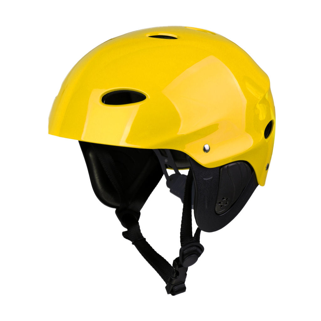 Perfeclan Lightweight Vented Water Sports Safety Helmet Kayak Canoe Boat Surf Hard Cap with Ear Protective Pads CE Certified