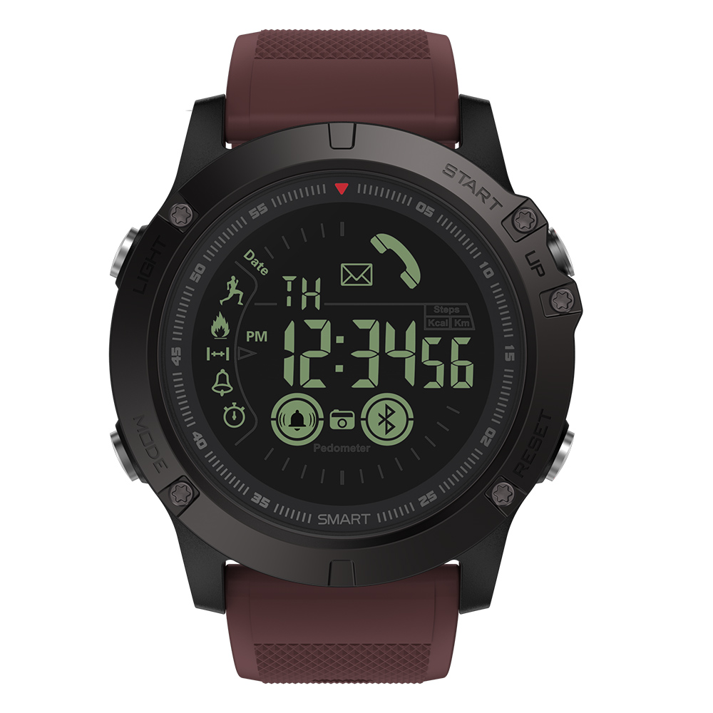 Rugged Smartwatch 24h Time 17