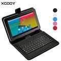 XGODY T93Q 9 polegada Tablet PC Android 4.4 AllWinner A33 Quad Core 1.3 GHz 512 MB RAM 8 GB ROM WiFi + Teclado caso