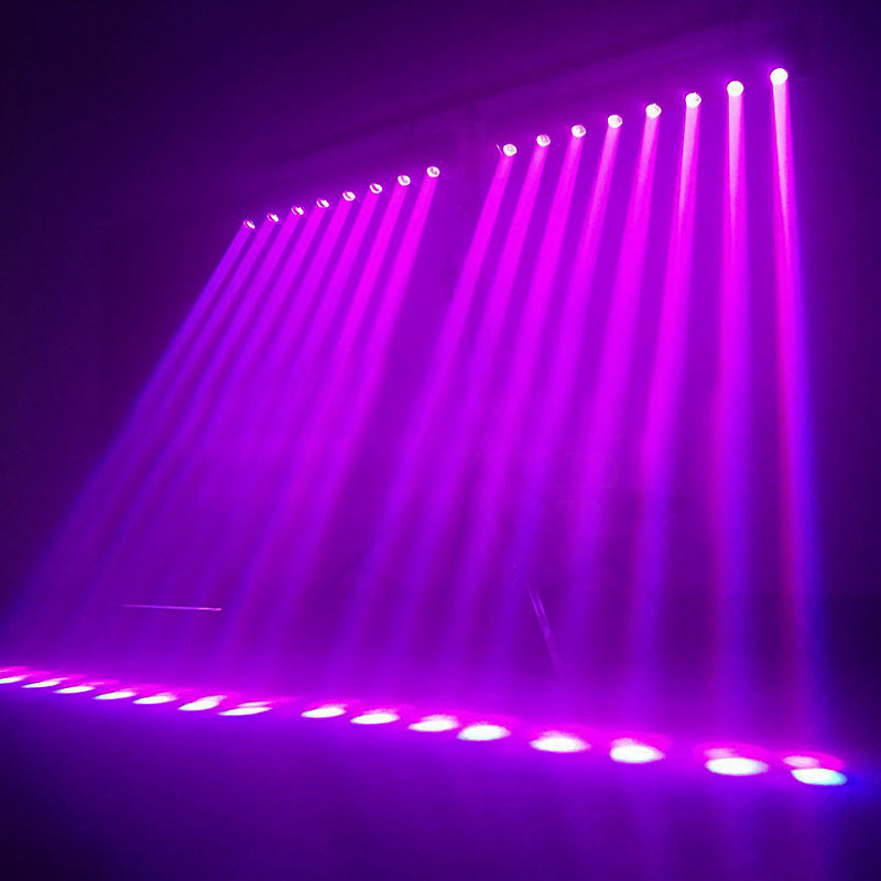 Image 5 - Fast Shipping 8x12W RGBW Multicolor LED Bar Beam Moving Head Light For DJs Sets Venue With Strong Daylight-in Stage Lighting Effect from Lights & Lighting